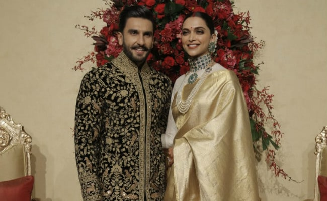 Pics Of Deepika Padukone And Ranveer Singh From Bengaluru Reception. What's The Word? Gorgeous