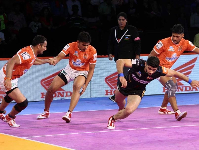 Pro Kabaddi League: Telugu Titans Edge Past Puneri Paltan, U Mumba Hammer UP Yoddha