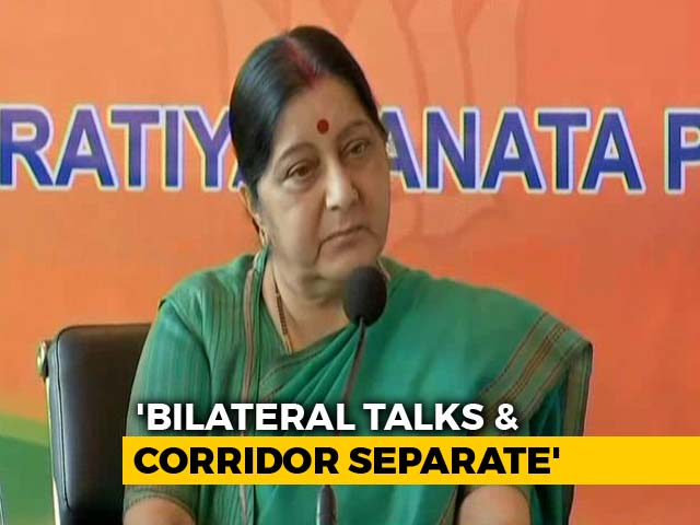 Video : India Won't Attend SAARC Meet, Pak Must Stop Terror First: Sushma Swaraj