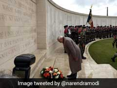 PM Pays Tribute To Indian Soldiers On First World War 100th Anniversary