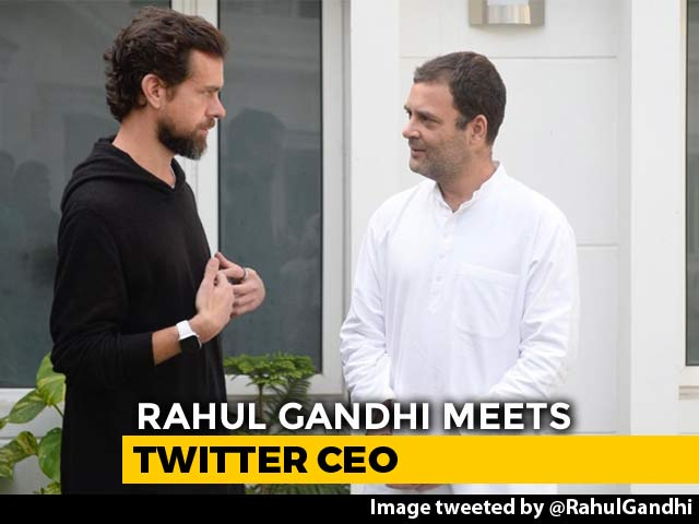 Video : Twitter CEO Jack Dorsey, Rahul Gandhi Meet To Discuss Fake News