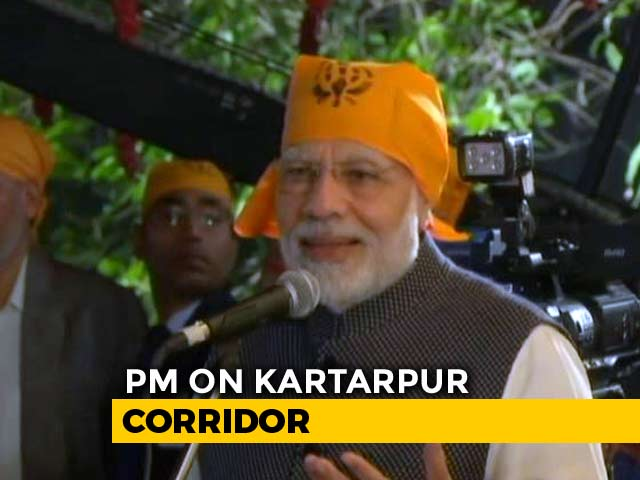 Video : Even The Berlin Wall Fell: PM Modi On Kartarpur Corridor