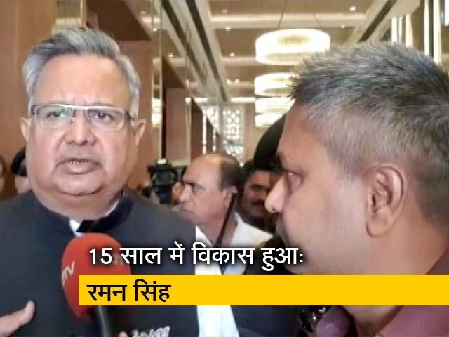 Videos : NDTV से बोले छत्तीसगढ़ के CM रमन सिंह, 'विकास से नक्सलवाद को खत्म करेंगे'