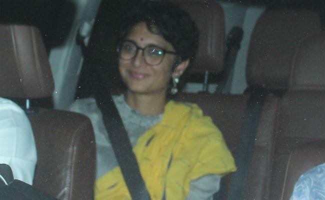 Aamir Khan Screens Thugs Of Hindostan For Wife Kiran Rao, Sachin Tendulkar, Anjali And Others