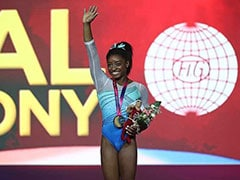 Simone Biles Wins Record 13th World Gold But Denied Clean Sweep