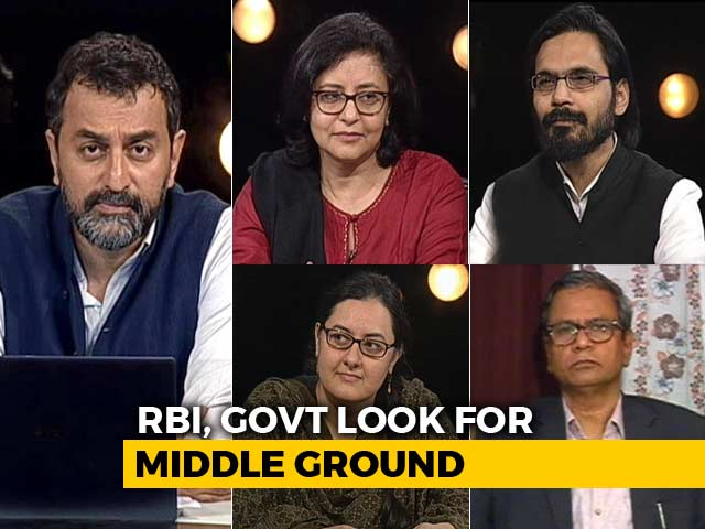 Video : Centre vs RBI: End To Deadlock?