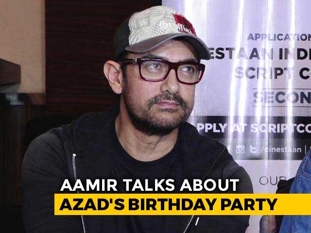 Aamir Khan Reveals Asterix Party Backstory After Pics Go Viral