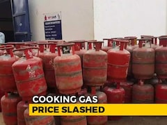 Video: Cooking Gas Price Cut By Rs. 6.52 Per Cylinder