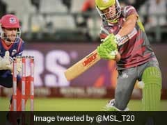 AB De Villiers Plays Switch Hit To Perfection In Mzansi Super League, Fans Love It. Watch Video