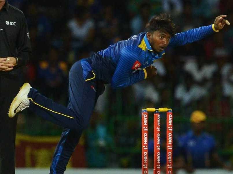Sri Lankas Akila Dananjaya Reported For Suspect Bowling Action