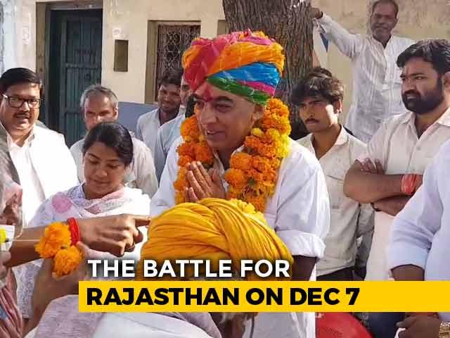 Video : In Jhalawar, 'Battle Ready' Manvendra Singh Takes On Vasundhara Raje