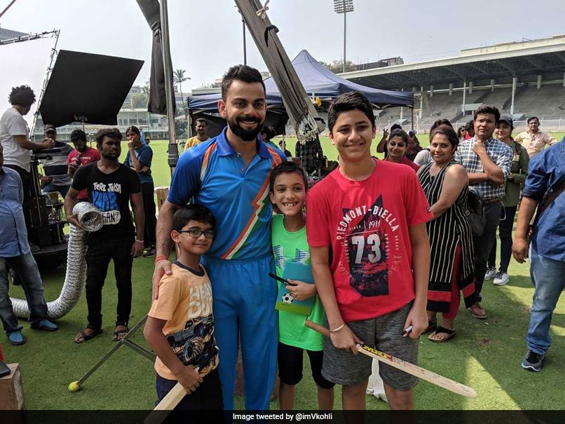Indian Captain Virat Kohli Celebrates Children's Day in Unique Style