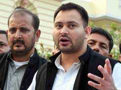 Tejashwi Yadav Rules Out Controversial Lawmaker's Entry In Grand Alliance