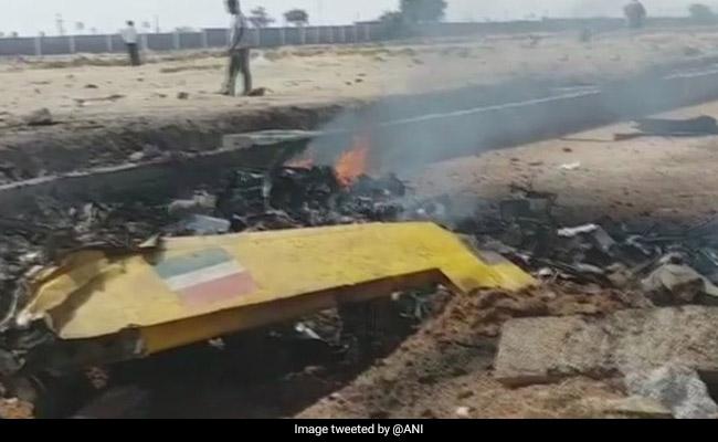 Air Force Trainer Aircraft Crashes In Telangana, Pilot Injured