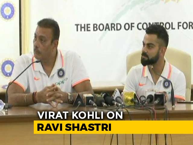 "Video : ""Bizarre"": Virat Kohli On Ravi Shastri Being Called A Yes Man"