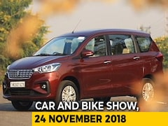 Video: Mahindra Alturas G4 & New Maruti Suzuki Ertiga