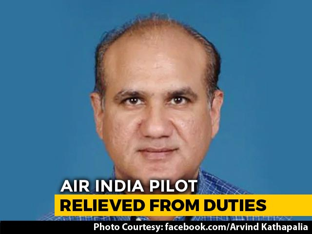 Video : Air India Pilot Who Failed Alcohol Test Sacked From Top Post