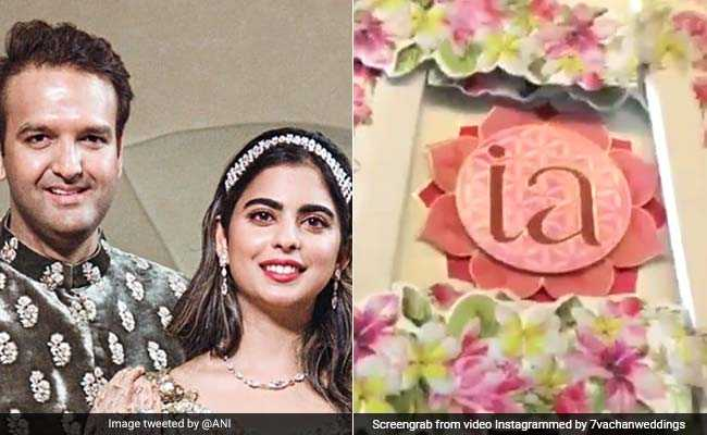 For Isha Ambani, Anand Piramal's Wedding, A Royal Invitation Card