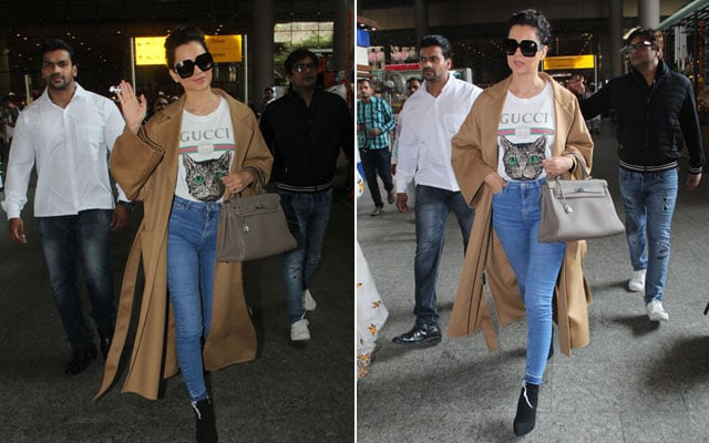 How To Look Chic When Travelling Like Kangana Ranaut