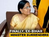 Video : Ex-Bihar Minister Manju Verma, Missing For Weeks, Surrenders In Court