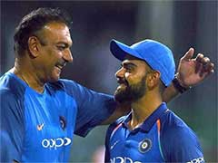 "Virat Kohli Says Ravi Shastri Being Called A Yes Man Was ""Bizarre"""