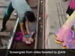 On Camera, One-Year-Old Escapes Unhurt As Train Passes Over Her In UP