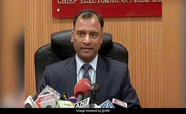 Delhi's Top Electoral Officer Likely To Be Appointed Chief Secretary