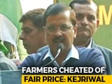 Video : PM Stabbed Farmers In The Back, Says Arvind Kejriwal At Farmers' Rally