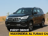 Video : Mahindra Alturas G4 First Drive Review