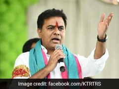 After Party's Victory In Telangana, KCR's Son Attacks TDP