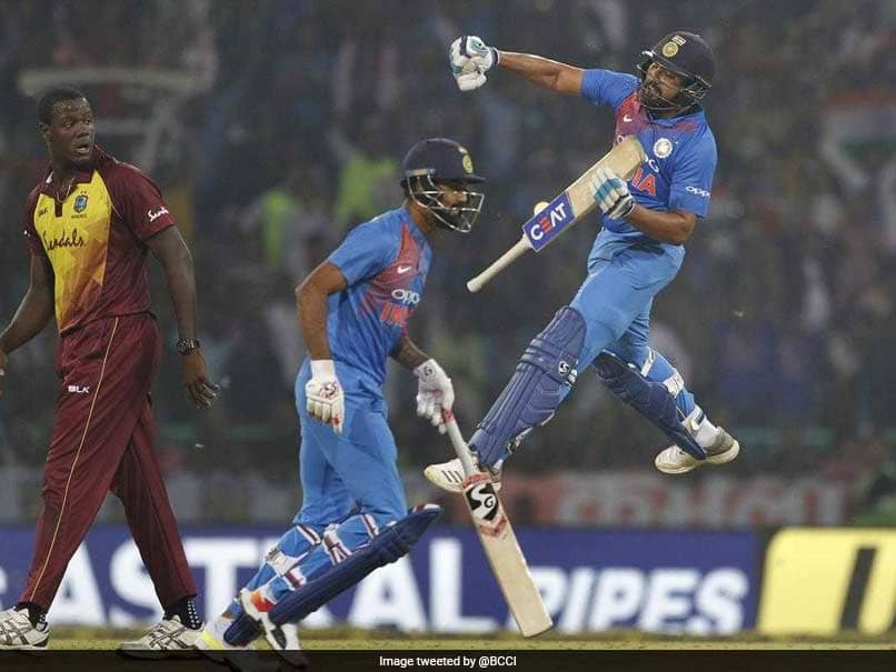 Rohit Sharma Sets Record, Becomes First Batsman To Score Four T20I Centuries