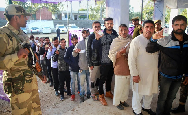Third Phase Of Panchayat Polls In Jammu And Kashmir Ends Peacefully