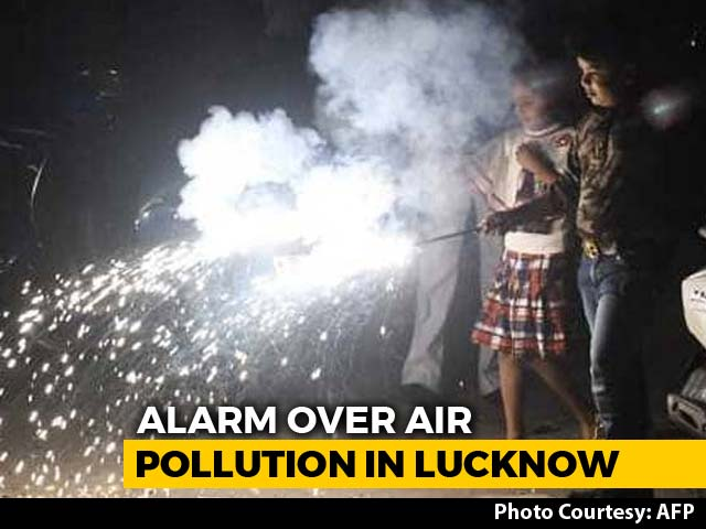 Video : Lucknow Most Polluted On Diwali, Recorded 300% Rise In Air Pollution