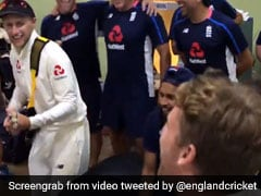 Watch: Joe Root Plays Guitar In Dressing Room After England Win