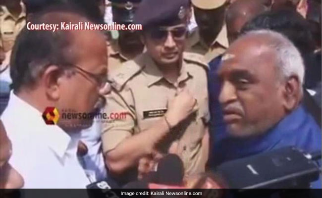 'Sir, That Is The Problem,' Cop Tells Union Minister On Way To Sabarimala