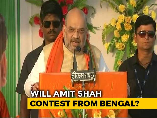 Video : We Want Amit Shah To Contest From Bengal: State BJP Chief Dilip Ghosh