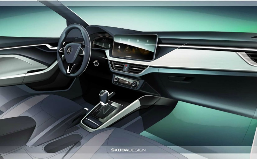 New Skoda Scala Interior official render