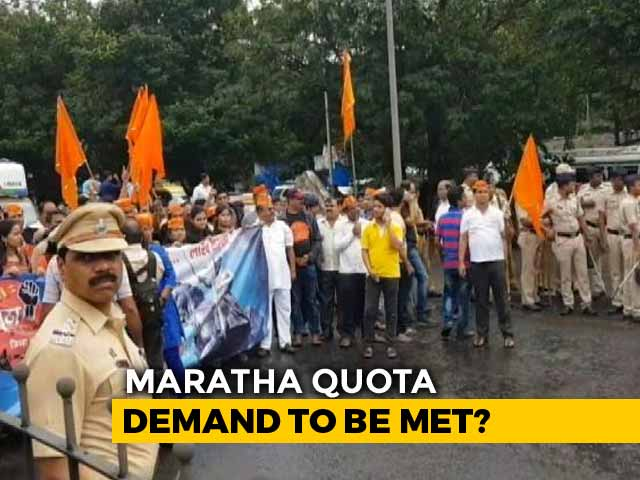Video : Quota On The Way, Assures Devendra Fadnavis, But Marathas Not Impressed