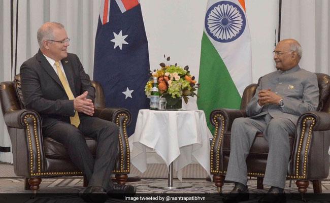 Australian Prime Minister, President Kovind To Unveil Gandhi Statue Today