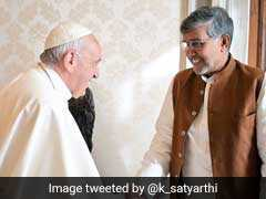 Kailash Satyarthi Meets Pope, Seeks Help For Law Against Child Sex Abuse