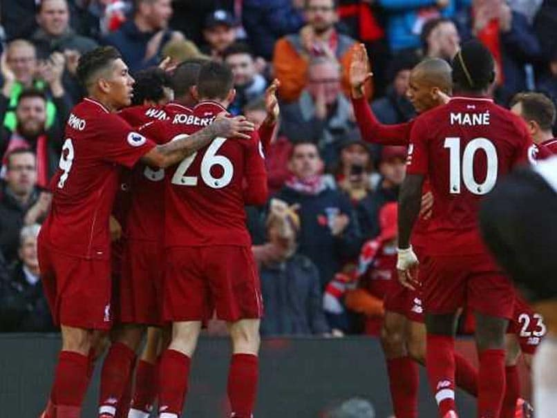 Premier League: Liverpool Continue Title Push Against Fading Fulham