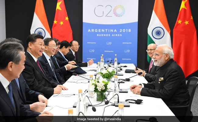 PM Modi, Xi Jinping Meet On Sidelines Of G20 Summit In Argentina