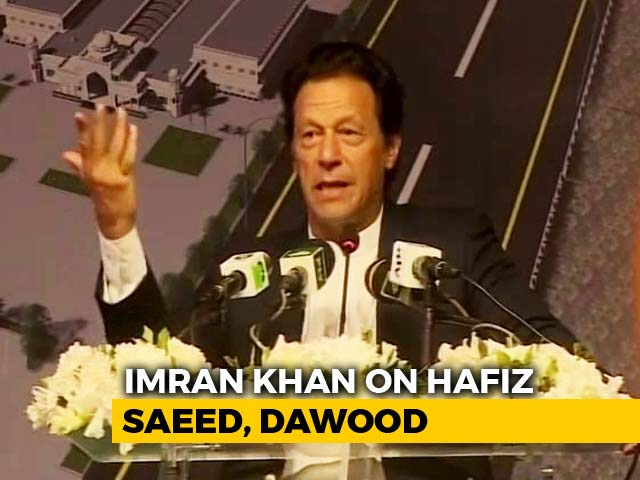 "Video : Imran Khan On Hafiz Saeed, Dawood: ""Inherited Issues, Can't Be Blamed"""