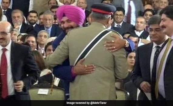 '1-Second Hug, Not Rafale Deal': Navjot Sidhu On Embracing Pak Army Chief