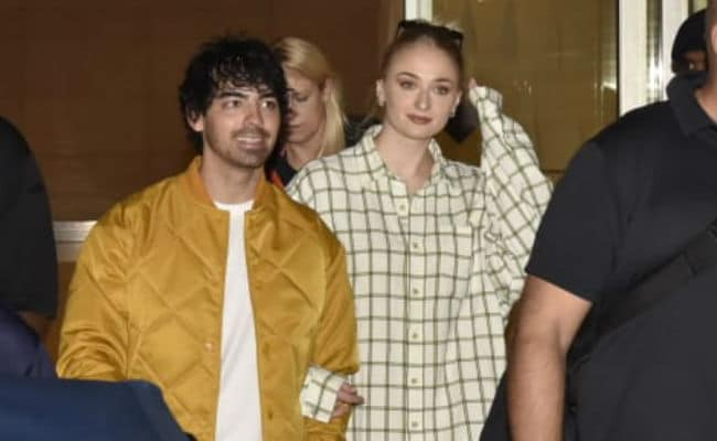 Priyanka Chopra And Nick Jonas' Wedding: Joe Jonas And Sophie Turner Are First Baaraatis In Mumbai