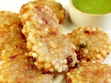Video : How To Make Sabudana Tikki At Home