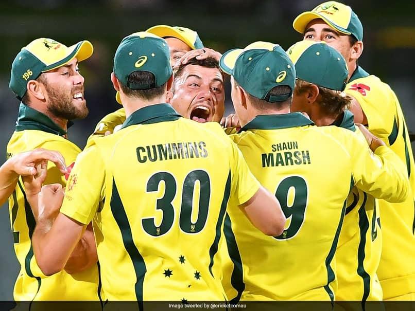 "Aaron Finch Proud Of Australias ""Hard Work"" After Ending Seven-Match Losing Streak"