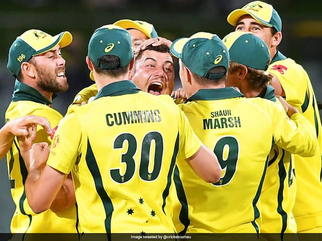 "Aaron Finch Proud Of Australias ""Hard Work"" After Ending Seven-Match Losing Streak"