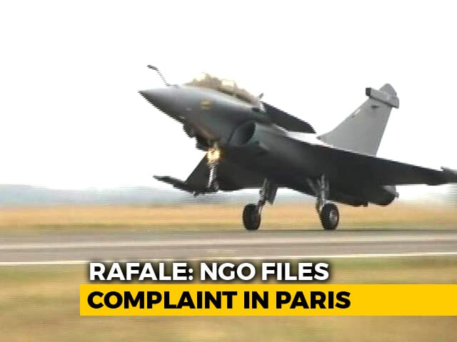 Video : French NGO Files Complaint, Wants Clarification On Terms Of Rafale Deal