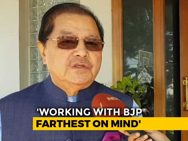 "Video : ""Far-Fetched"": Mizoram's Congress Chief Minister On BJP Hint Of Alliance"